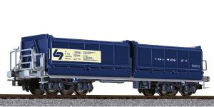 Liliput L235583 WLB 4-axle Ballast Tippler Wagon, Era V - SPECIAL OFFER